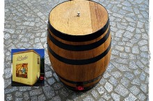Barrel to bag in box