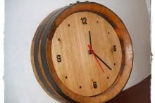 Relógio em Castanho